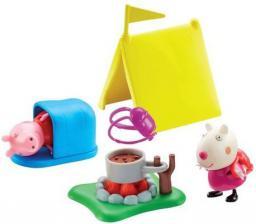 Tm Toys Peppa Zestaw Kemping + Figurki (591139)