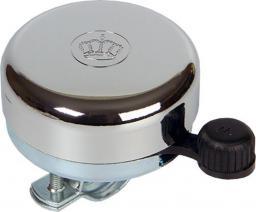 WIDEK Dzwonek rowerowy STEEL BELL Chromowy Krona 1 szt (WDK-1620-SZT)