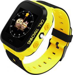 Smartwatch ART Phone Go Czarno-żółty  (AW-K02Y)