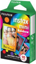 Fujifilm film do fotografii natychmiastowej, 10 sztuk, Mini Rainbox (16276405)