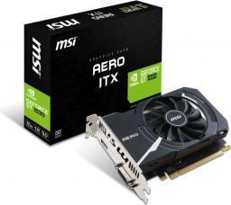 Karta graficzna MSI GeForce GT 1030 2GB AERO ITX OC, 2GB GDDR5 (64 Bit), DVI-D, HDMI, BOX (GT 1030 AERO ITX 2G OC)