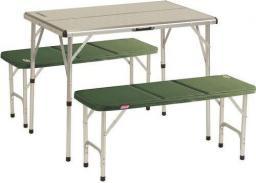Coleman Pack Away Table For 4 Stolik Z 2 Ławeczkami (053-L0000-205584-29)