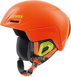 UVEX Kask Uvex Jimm kolor pomarańczowy, roz. 55-59 (56206 - 5620605)