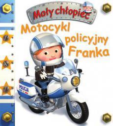 Mały chłopiec. Motocykl policyjny Franka (196236)