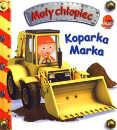 Mały chłopiec - Koparka Marka (58811)