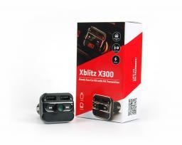 XBLITZ X300 Zestaw głośnomówiący  BT + transmiter  FM (AKSZSXBLLFM00001)