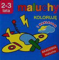 Akademia malucha - Koloruję i naklejam (98052)