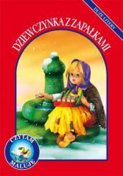 Czytam, maluję. Duże litery - Dziewczynka z zapałkami (153848)