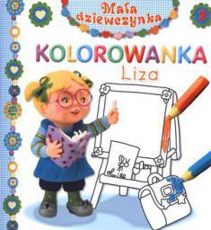 Mała dziewczynka kolorowanka - Liza (57029)