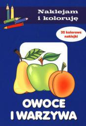 Naklejam i Koloruję - Owoce i warzywa (57274)