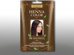 Venita Ziołowa odżywka koloryzująca Henna Color 30g  19 Czarna czekolada