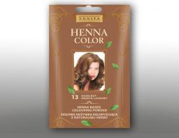 Venita Ziołowa odżywka koloryzująca Henna Color 30g  13 orzech laskowy