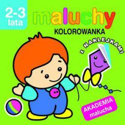 Akademia malucha - Maluchy. Kolorowanka (71439)
