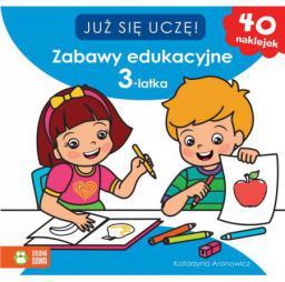 Już sie uczę. Zabawy edukacyjne 3-latka (152479)