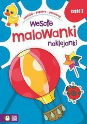 Wesołe Malowanki Naklejanki cz.2 - 234734