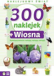 Zielona Sowa 300 naklejek. Wiosna. Naklejkowy świat. (229871)