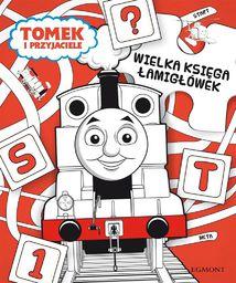 Wielka księga łamigłówek. Tomek i przyjaciele - 166097