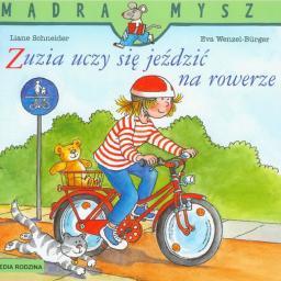 Media Rodzina Mądra mysz - Zuzia uczy się jeździć na rowerze (42306)