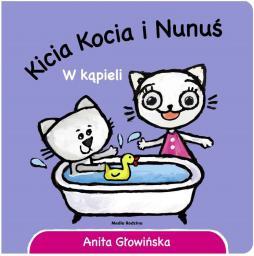 Kicia Kocia i Nunuś. W kąpieli (234592)