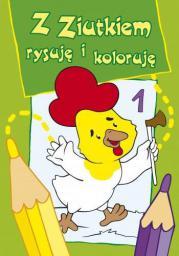 Z Ziutkiem rysuję i koloruję 1 (35862)