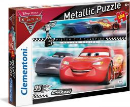 Clementoni Puzzle 104 elementy Metallic Cars 3