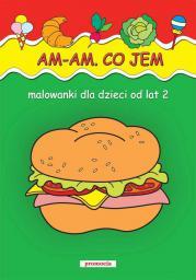 Malowanki - Am, am. Co jem?