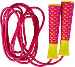 Spokey Skakanka Candy Rope różowo-żółty (838539)