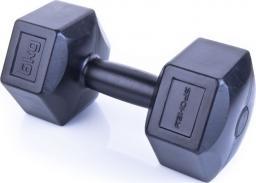 Spokey Zestaw hantli sześciokątnych Monster II (1-6 kg) czarne