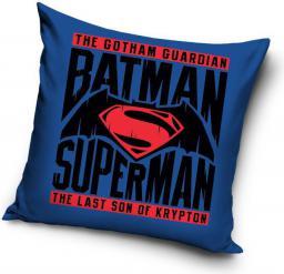 CARBOTEX Poduszka bawełniana Batman Superman