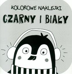 YOYO Kolorowe naklejki - Czarny i Biały - 205385