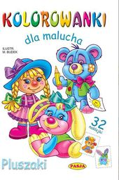 Kolorowanki dla malucha - Pluszaki - 161314