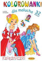 Kolorowanki dla malucha - Księżniczki - 161316