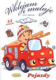 Wklejam i maluję - Pojazdy - 104480