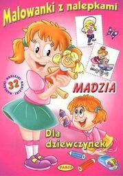 Malowanki z nalepkami - Madzia - 130842
