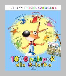 Siedmioróg 1000 nalepek dla 3-latka - 167085