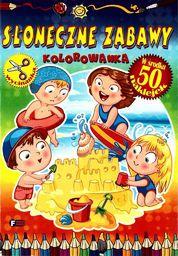 Słoneczne zabawy. Kolorowanka FENIX - 169807