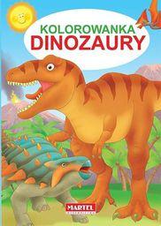 Kolorowanka. Dinozaury - 176622