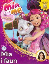 Media Service Zawada Mia and Me Magiczna księga 2 Mia i faun