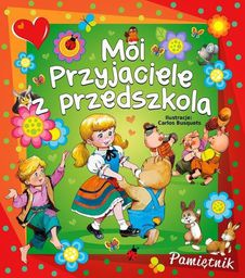 Elżbieta Jarmołkiewicz Moi przyjaciele z przedszkola (Busuets) - 240132