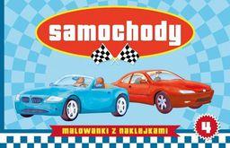 Malowanki z naklejkami - Samochody cz.4 - 150653