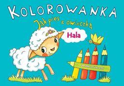 Kolorowanka. Jak pies z owieczką. Hala - 181232