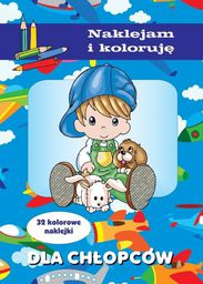 Naklejam i koloruję - Dla chłopców - 164508