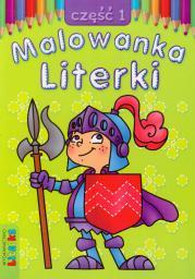 Malowanka - Literki cz. 1