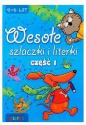 Wesołe szlaczki i literki część 1 LITERKA - 49916
