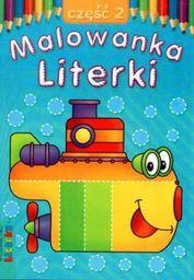 Malowanka - Literki cz. 2 LITERKA - 52847