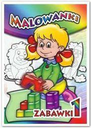 Malowanki Zabawki 1 LIWONA - 71927