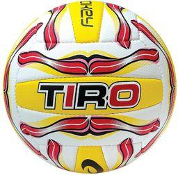 Spokey Piłka do siatkówki Tiro II 5 czerwono-żółto-biały (834035)