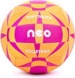 Spokey Piłka siatkowa Neo Soft czerwono-pomarańczowa r. 5 (838554)