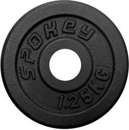 Spokey SINIS - Obciązenie żeliwne; 1;25 kg - 84420