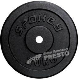 Spokey Spokey SINIS - Obciążenie żeliwne; 20 kg - 84424